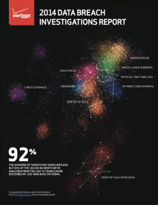 2014 DBIR front page